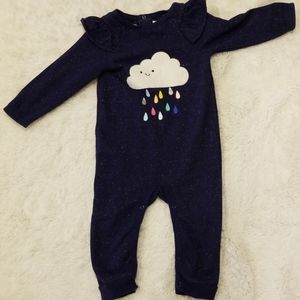 🎉 Like New 12mo Cat & Jack body suit